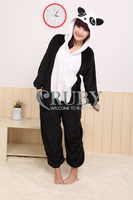 EMS Free Shipping+New Adult Unisex Kigurumi Pajamas Cosplay Japan Costumes Cute Animal Panda Cartoon Onesies Pyjamas Sleepwears