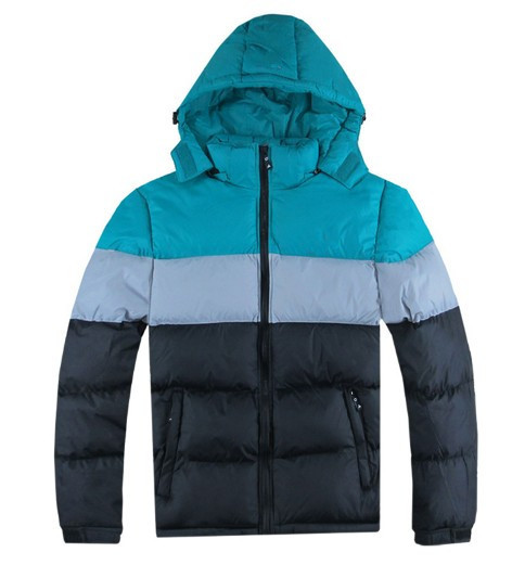 Winter men outdoor jackets , fashion sport jackets, down coat mixed colors(China (Mainland))