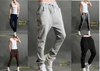 New Men Women Korean Style Casual Athletic Hip Hop Dance Sporty Harem Baggy Tapered Sport Sweat Pants Slacks Trousers Sweatpants