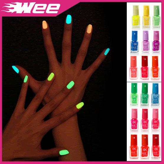 Светящийся лак для ногтей в домашних условиях
