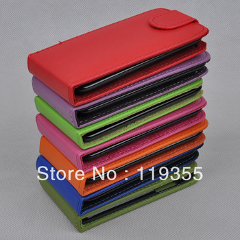 Luxury leather case for iPod touch4 original Faddist ultrathin crazy case cover mp3 for apple