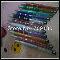 500PCS/lot Diamond Stylus Crystal Writing Pen Touch Screen Pen For iPhone iPad Smartphone Tablet