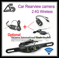 Wholesale 2.4 G Wireless Car Rear View Reverse Wide Vision for GPS or DVD