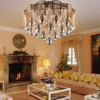Modern fashion brief living room lamps romantic bedroom lights ceiling light hall lights k9 crystal lighting