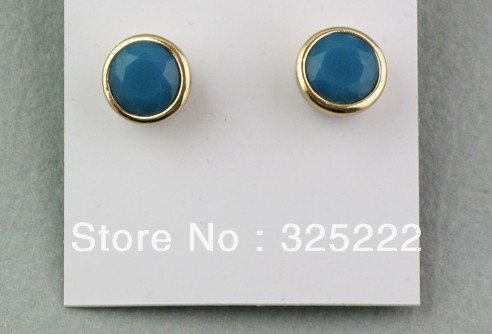 Free shipping 30pairs/lot fashion earrings Hot sale fashion jewelry hot selling new arrive A002(China (Mainland))
