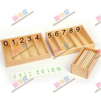 Child puzzle professional stick spindle box