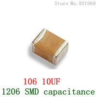 1206 105 1UF 1206 SMD capacitance / SMD capacitors 100PCS/LOT