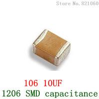 1206 105 1UF 1206 SMD capacitance / SMD capacitors 100PCS/LOT