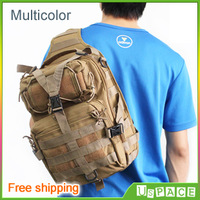 2013 new military tactical shoulder bag outdoor camping backpack diagonal sports bags, optional multi-color, free shipping