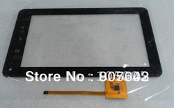 Free shipping 7`` capacitive LCD touch panel /digitizer /Glass for Tablet PC,TV,GPS,PDA,E-book reader(China (Mainland))