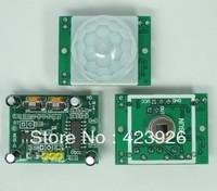 free shipping  D-SUN  sensing module pyroelectric infrared sensor alarm HC-SR501 induction switch module