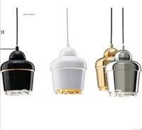 Modern artek single-head BLACK/GOLD/SILVER/WHITE 18cm E27 Iron pendant light lamp lighting fixture bedroom free shipping