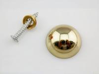 Lot Of 50  Semicircular Curved  Advertisement Fixing Screws Glass Standoff Pin(D:18mm)