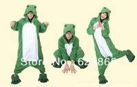 New Unisex hooded Pajamas frog  Anime  Cosplay Costumes Animal Pajamas