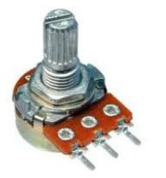 Potentiometer /Potentiometer linear 100K  /fits well on guitar pedal, 10pcs/Lot, Free Shipping.