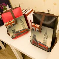 2013 women's handbag school bag backpack preppy style gentlewomen handbag shoulder bag