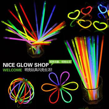 Disposable niceglow neon stick neon bracelet luminous stick glow stick belt neon stick adapter