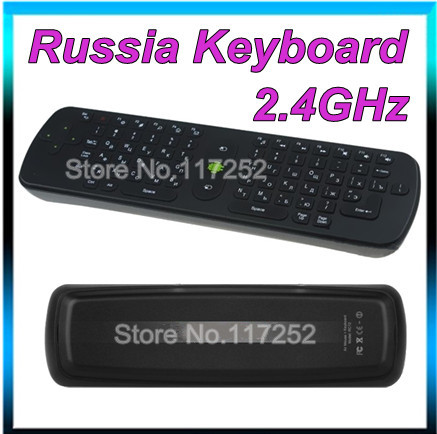 5pieces Measy RC11 Air Mouse Russian Keyboard 2.4GHz Wireless Gyroscope Handheld Remote Control for TV BOX Laptop Tablet Mini PC(China (Mainland))