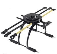 ATG 650-X6 -12 Glass Fiber Folding Frame Hex Rotor Hexa Multicopter W/Tall Landing Skid