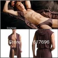 ( Robe + Briefs ) Men's Sleep Lounge Robe Sets  Brand New Free Shipping !