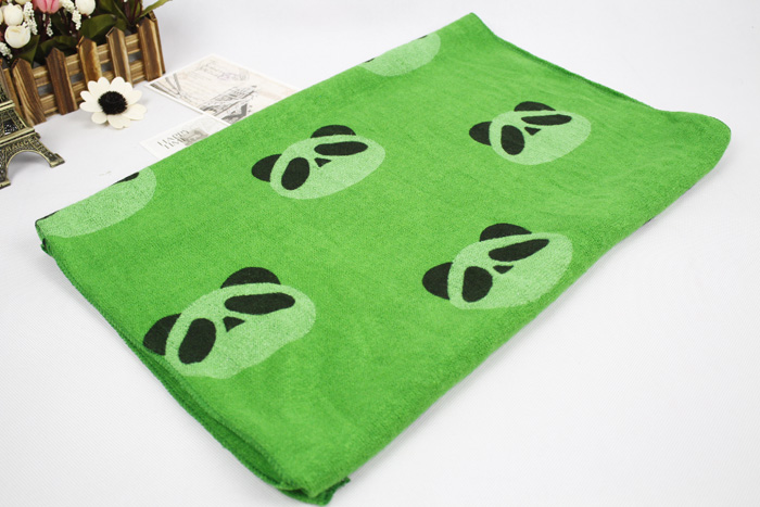 Autumn and winter women's faux lengthen thermal thick green scarf bevel cape muffler scarf free shipping(China (Mainland))