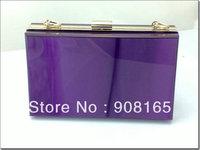 6 colors,2013 new transparent handbag,women print hags,chain fashion clutch bags,free shipping