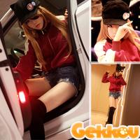 EVA Neon Genesis Evangelion Souryuu Asuka Langley Cosplay Costume Jacket Sweatshirt +  peaked Cap Hat