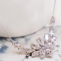 BingLingHua decorative necklace Korean female clavicle short chain bride accessories ladies