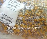 100pcs Multilayer ceramic capacitor X7R 100nF 0.1uF 104 50V 2.54mm B104K
