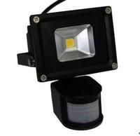 10pcs/lot 10w 20w 30w 50w DC 12V 24V waterproof PIR Motion sensor Induction Sense lamp LED Flood Light Outdoor Lamp