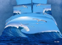 Ocean wizard series  Oil painting  3d bedding sets 100% cotton  Quilt cover Bed Sheet pillowcases king queen size  free shipping
