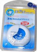 Free Shipping! High quality dental floss ultrafine 50m dental floss Mint Waxed dental floss