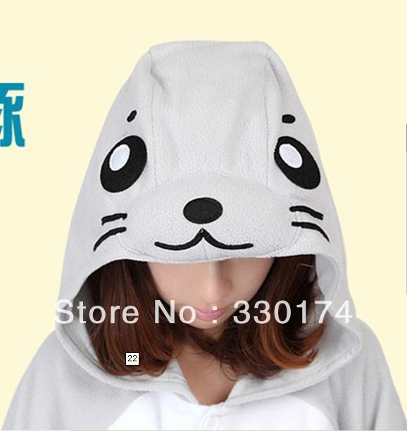 New Unisex hooded Pajamas as dolphins Anime Cosplay Costumes Animal Pajamas(China (Mainland))