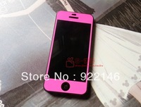 Screen film Pure color protective film  protector  for iphone 5 Random delivery