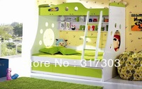 children furniture set, bunk bed, children bed, desk, chair, rolling chair, wordrobe, kids furniture, factory wholesale, AB05