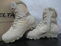 Delta military boots army desert tactical high shoes Round Toe men's boots 22cm high free shipping S0001