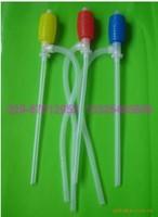 Manual Hand Siphon Pump Hose Water Gas Oil Fuel Liquid Transfer Pump