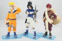 Naruto 3 hand-done kakashi i love 3 doll decoration