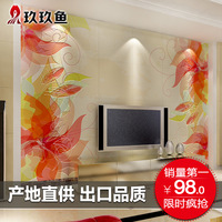 Brief beijingqiang tile sculpture of tv brick modern tv background wall