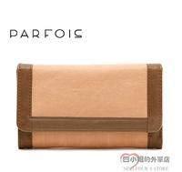 Parfois fashion brief multifunctional medium-long powder day clutch wallet card holder