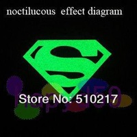 78pcs DIY personality  superman mountain Bicycle transfer night-luminous sticker auto car motorcycle bike stickers