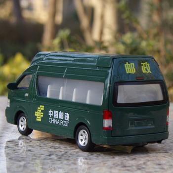 Mail car school bus microbiotic cars acoustooptical WARRIOR alloy model car toy