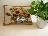 Decorate throw decorate home decor burlap for sofa Rustic fashion brief modern cushion cover pillow cover