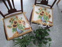 Cushion  sofa dining chair cushion sunflower 40cm x 40cm x 3cm