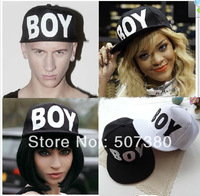 Unisex BOY London Snapback Caps Boy Adjustable Hat Black Boy Cap White hats Unisex Hiphop Hat B-boy Block Color Hats Mixed Order