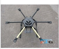 ATG 600-X6 Glass Fiber Folding Frame Hex Rotor Hexa Multicopter W/Tall Landing Skid