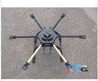 ATG 600-X6 Glass Fiber Folding Frame Hex Rotor Hexa Multicopter W/Tall Landing Skid