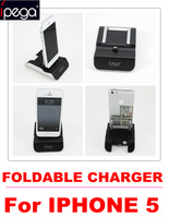 10% OFF brand ipega, CE FCC, foldable  usb charger for iphone 5 charger  SPI5030 free shipping dropshipping china post