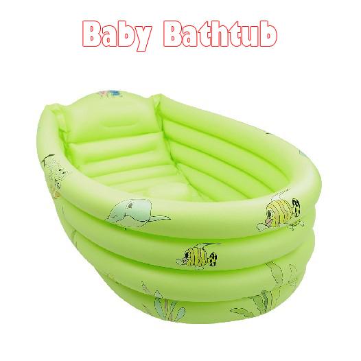 Baño Portatil Pequeno:Portátil 1pc tinas de baño de baño para bebés baby& inflable de la