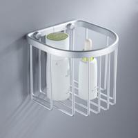 Toilet paper holder space aluminum bathroom shelf basket paper towel holder toilet paper holder hardware accessories